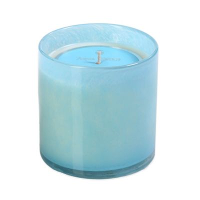 Illuminaria Powder Candle Jar in Aqua Waters