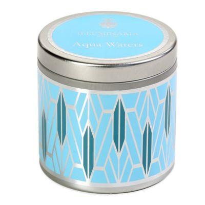 Illuminaria Tin Candle in Aqua Waters