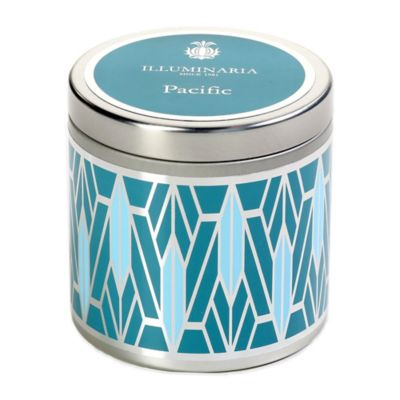 Blue Tin Candle