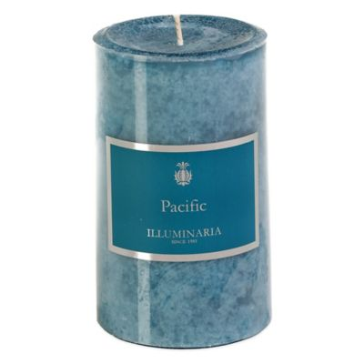 Illuminaria 3-Inch x 5-Inch Pillar Candle in Pacific