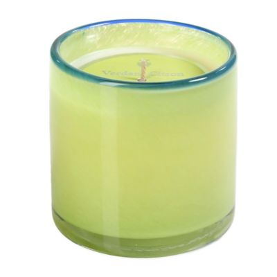 Illuminaria Powder Candle Jar in Verdant Citron