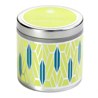 Illuminaria Tin Candle in Verdant Citron