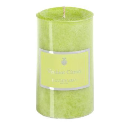 Illuminaria 3-Inch x 5-Inch Pillar Candle in Verdant Citron