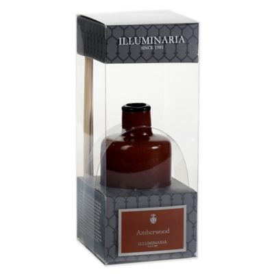Illuminaria Reed Diffuser in Amberwood