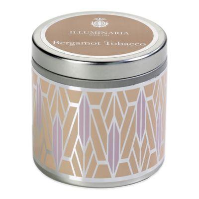 Brown Tin Candle