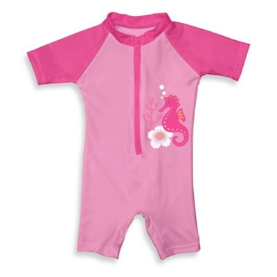 i play.® Size 18M Sunsuit in Pink Seahorse