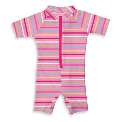 i play.® Size 12M Sunsuit in Pink Multistripe
