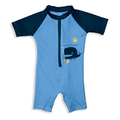 i play.® Size 12M Sunsuit in Blue Whale
