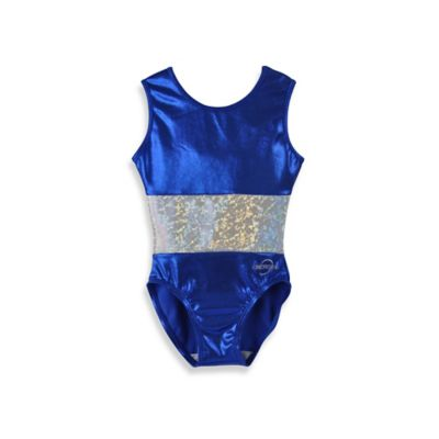 Obersee Size XX-Small Kids Gymnastics Leotard in Royal Band
