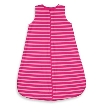 i Play.® Brights Size 6-12M Organic Sleeper in Fuchsia Stripe