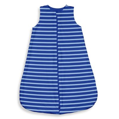 i Play.® Brights Size 6-12M Organic Sleeper in Royal Blue Stripe