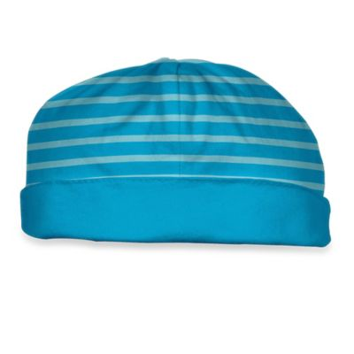 i Play.® Brights Size 3-6M Organic Cotton Reversible Twist Cap in Aqua
