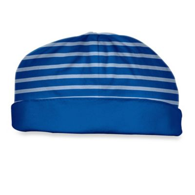 i Play.® Brights Size 0-3M Organic Cotton Reversible Twist Cap in Royal