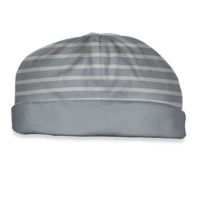 i Play.® Brights Size 3-6M Organic Cotton Reversible Twist Cap in Grey