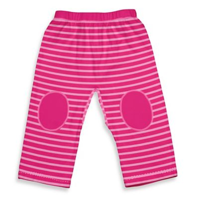 i play.® Brights Size 6M Organic Cotton Yoga Pants in Pink Stripe