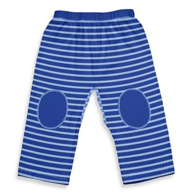 i play.® Brights Size 3M Organic Cotton Yoga Pants in Royal Stripe