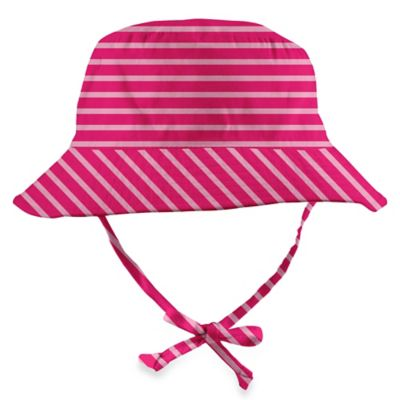 i play.® Size 0-6M Organic Cotton Bucket Sun Protection Hat in Pink