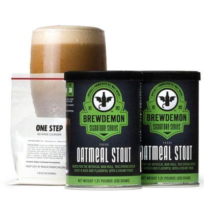 BrewDemon™ 2-Gallon Shedu Oatmeal Stout Recipe