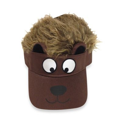 Flair Hair® Flair Friends Bear Visor in Brown