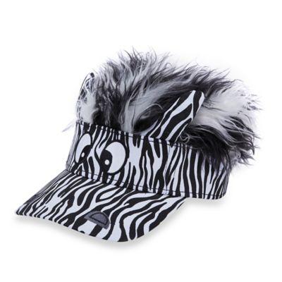 Flair Hair® Flair Friends Zebra Visor