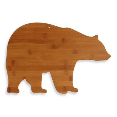 Totally Bamboo Bear-Shaped Cutting Board