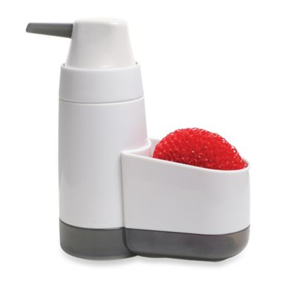 Soap Pump and Sponge Holder