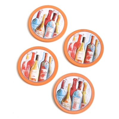 Arte Vino Terra Cotta Coaster (Set of 4)