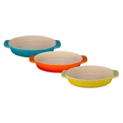 Yellow Stoneware Baking Dishes