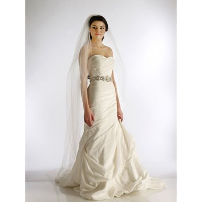 Full-Length 1-Layer Cathedral Bridal Veil in Ivory
