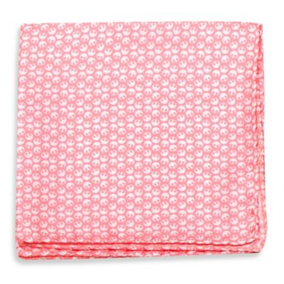 Star Wars™ Silk Rebel Pocket Square in Pink/White