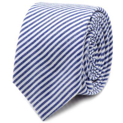 Blue Skinny Tie