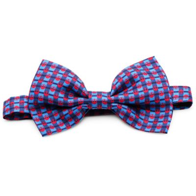 Star Wars™ Silk Rebel Plaid Bow Tie in Blue/Red