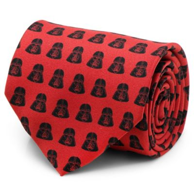 Star Wars™ Silk Darth Vader Tie in Red/Black