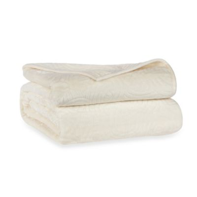 Berkshire Blanket® LoftMink™ Reversible Full/Queen Blanket in Ivory