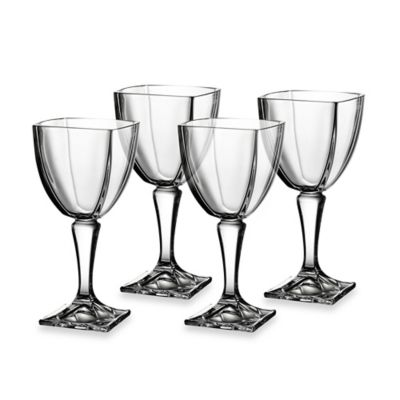 Clear Glass Wine Goblet