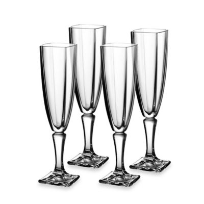 Fitz and Floyd® Gemini Toasting Flute (Set of 4)