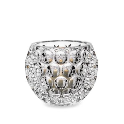 Fitz and Floyd® Optic Dot Crystal Votive Holder