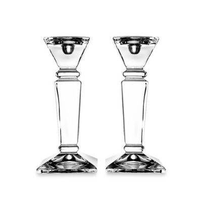 Fitz and Floyd® Majestic Crystal Candle Holder (Set of 2)