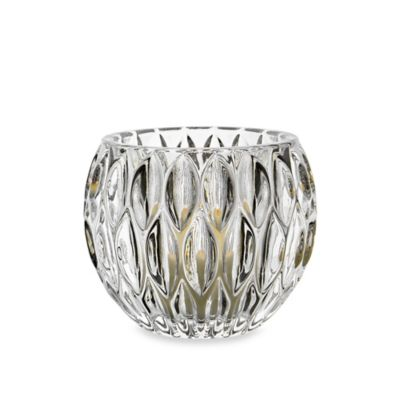 Fitz and Floyd® Teardrops Crystal Votive Holder