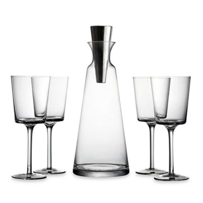 Fitz and Floyd® Lincoln Pyramid 5-Piece Wine Set