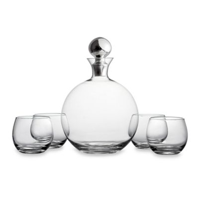 Fitz and Floyd® Winston 5-Piece Wine/Whiskey Set