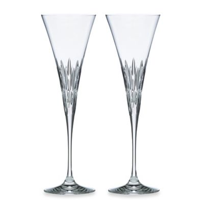 Lenox® Firelight® Crystal Toasting Flutes (Set of 2)