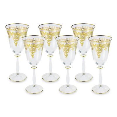 Classic Touch Wine Glasses