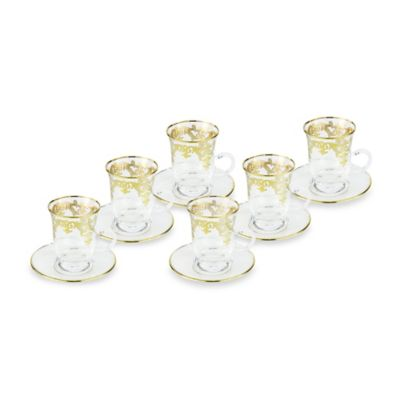 Classic Touch Tea Glass (Set of 6)