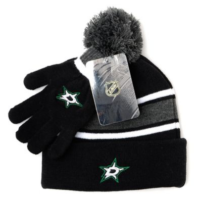 NHL Dallas Stars Men's Hat & Gloves Set