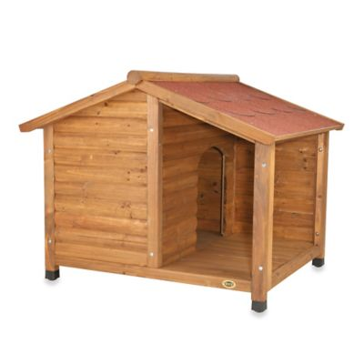 Trixie Medium Rustic Dog House with Covered Porch