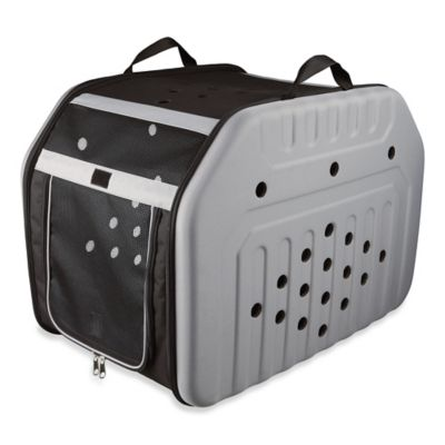 Trixie Small Malta Mobile Pet Kennel in Grey/Black
