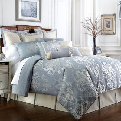 Waterford® Linens Newbridge Queen Reversible Comforter Set
