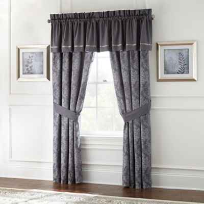 Waterford® Linens Georgica Tailored Window Valance