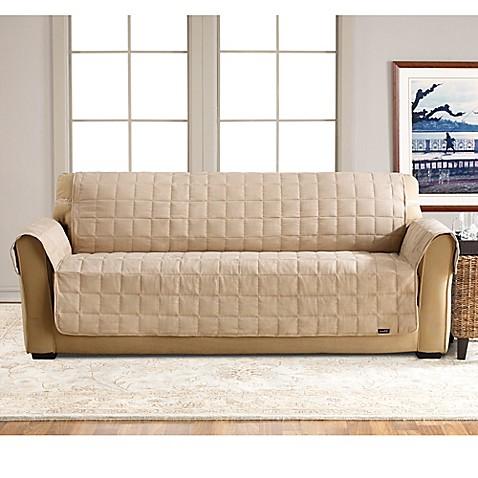 Sure Fit Waterproof Sofa Slipcover Bed Bath Beyond